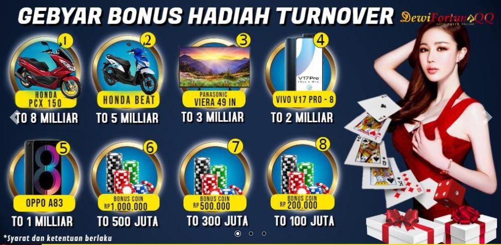 Bonus Judi Poker Online Terpercaya DewiFortunaQQ